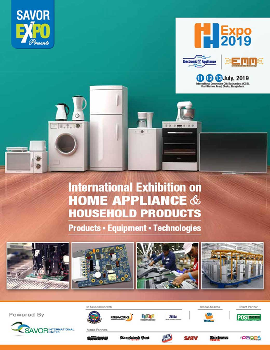 Electronic Appliance Expo 2019 - Exhibition in Bangladesh