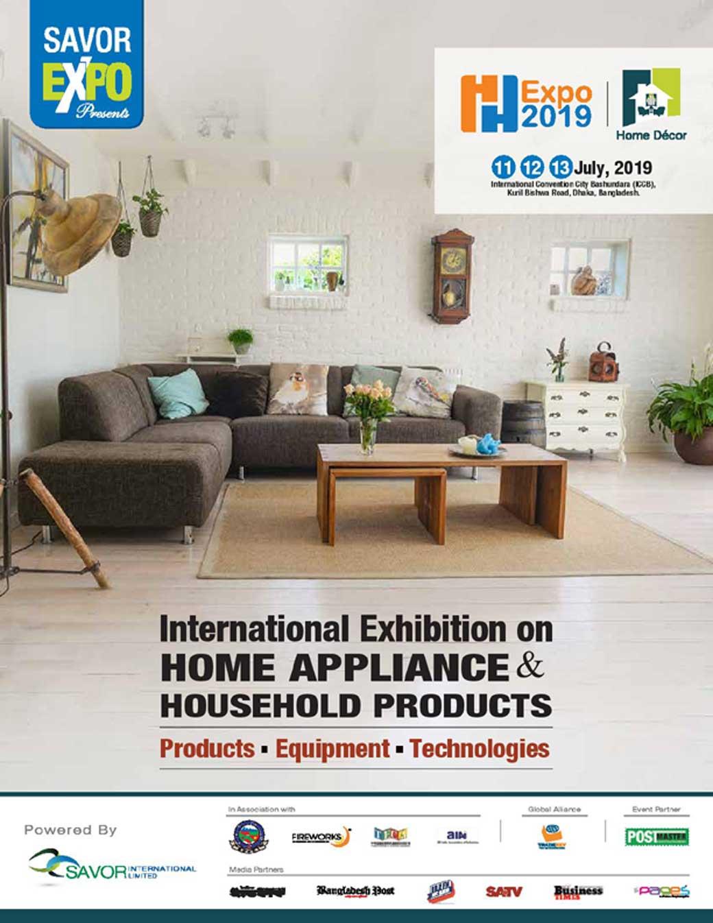 Home Decor Expo 2019 Exhibition In Bangladesh