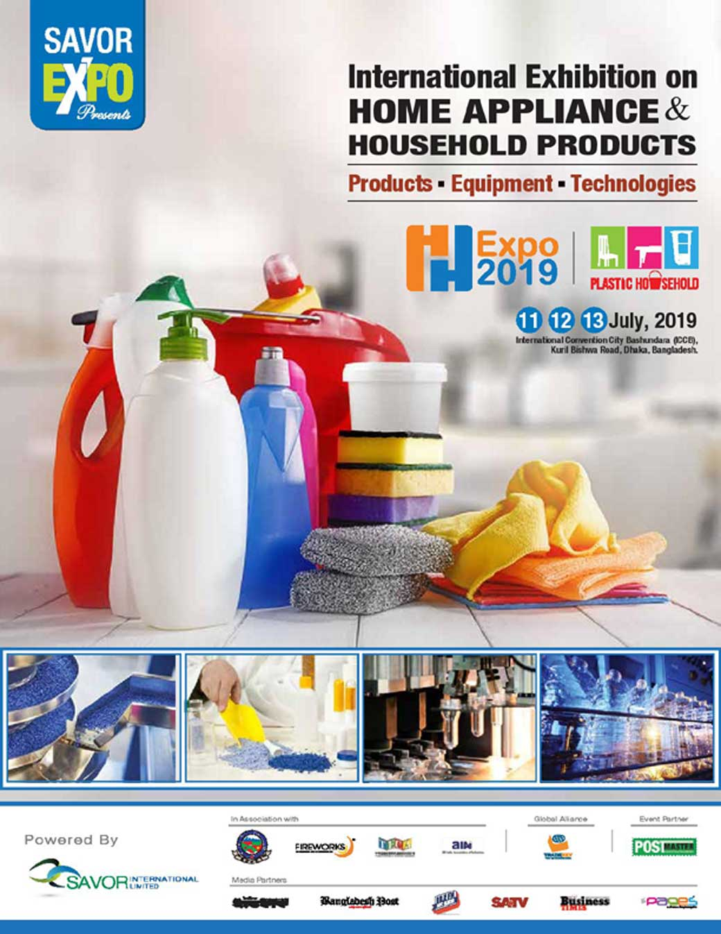 Plastic Household Expo 2019 - Exhibition in Bangladesh